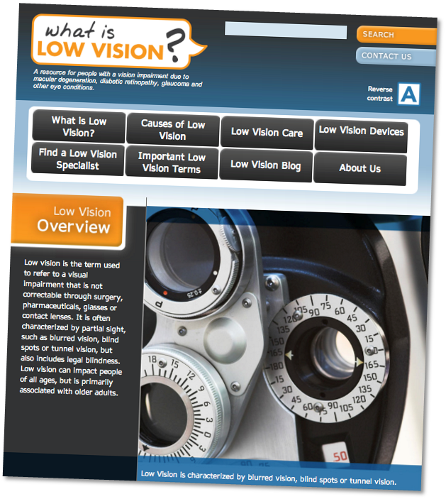 what is low vision