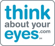 Think About Your Eyes Logo